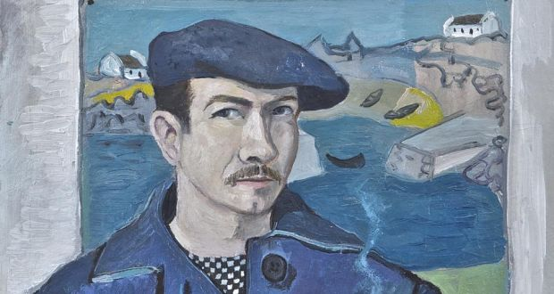 Gerard Dillon, Self Portrait at Roundstone