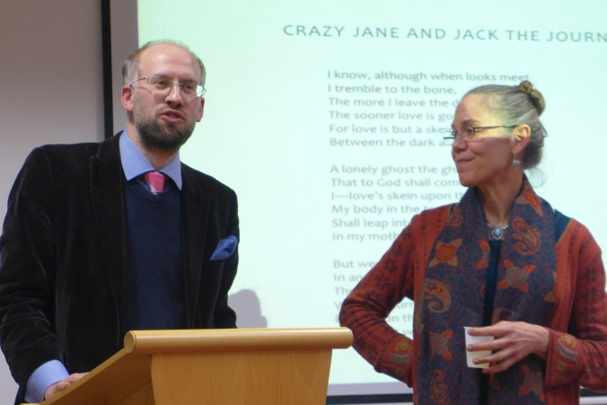 Dr Adrian Paterson and Professor Margaret Mills Harper